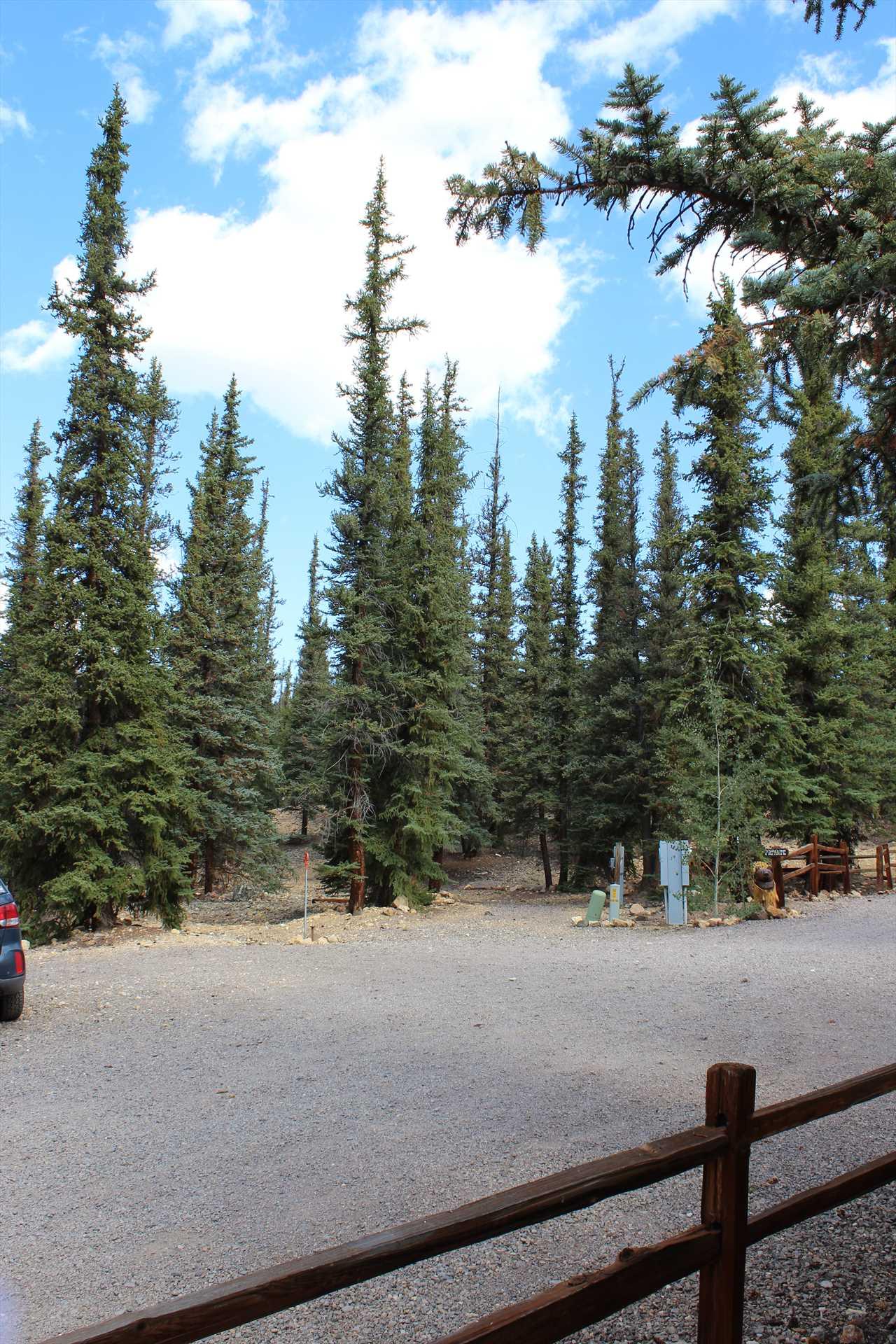 Additional Parking Near Cabin