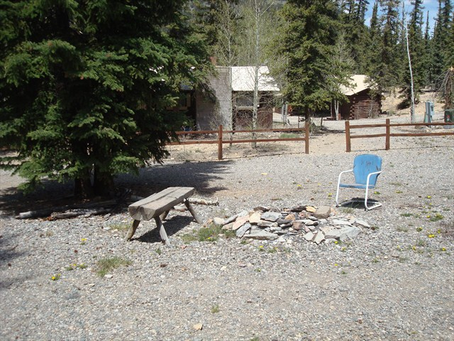 Front Area outside of Cabin