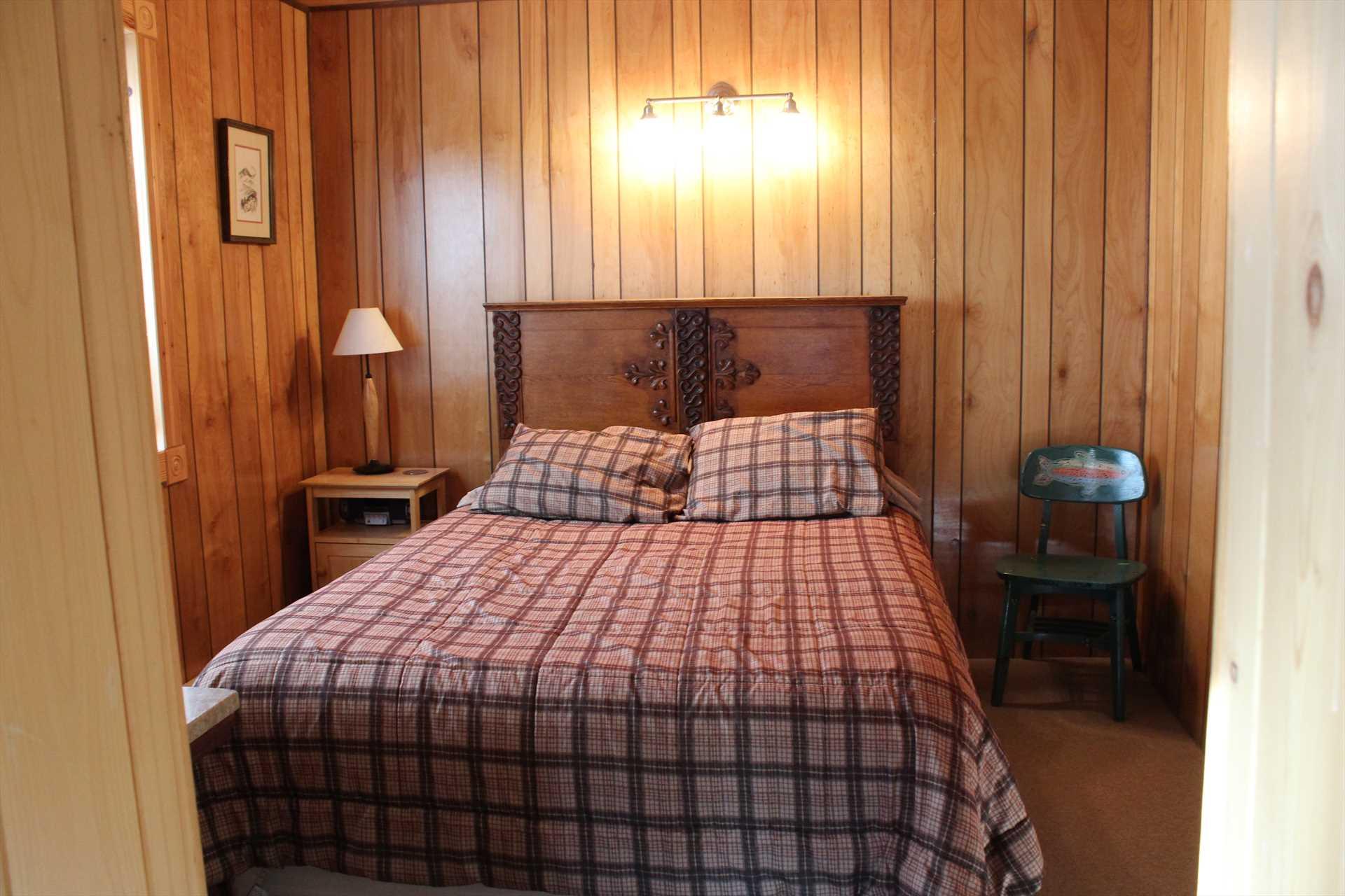 West Bedroom with Queen Bed