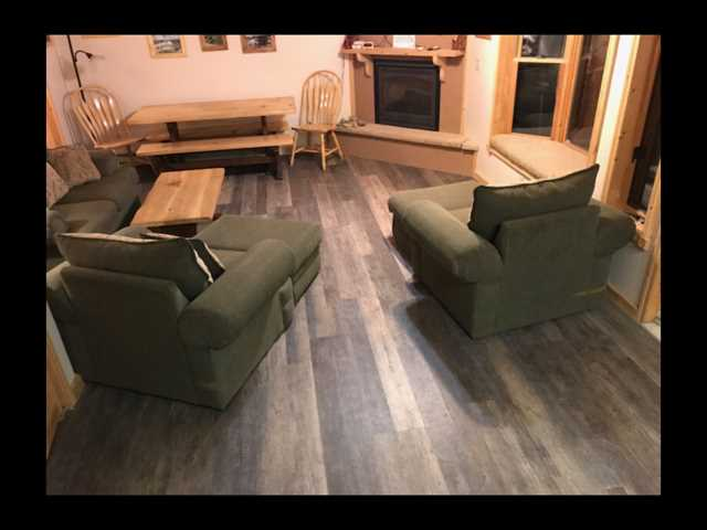 Great New Flooring in Living Room