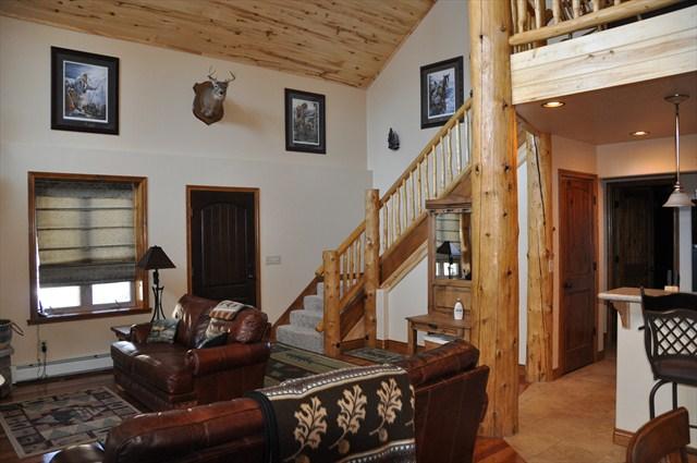Living Room Looking to Front Door