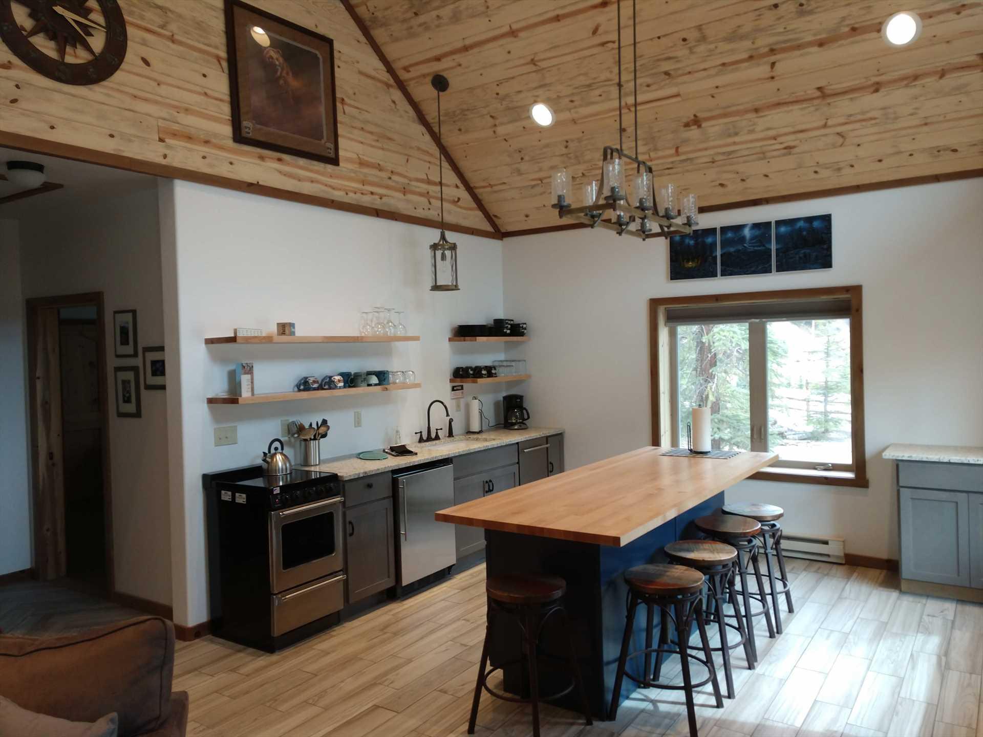 Kitchen in Bunkhouse