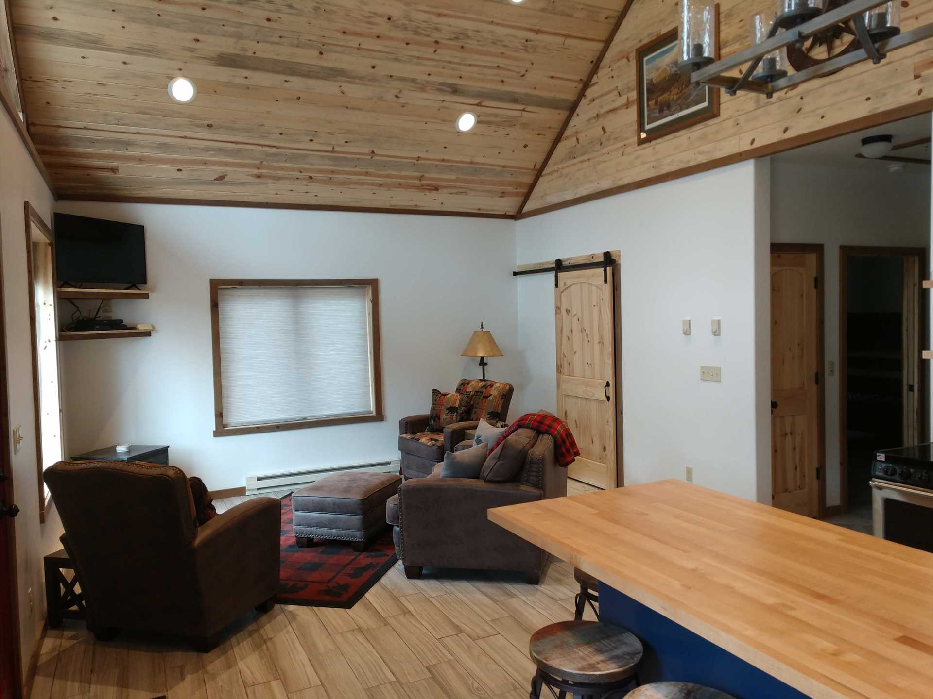 Living Room in Bunkhouse