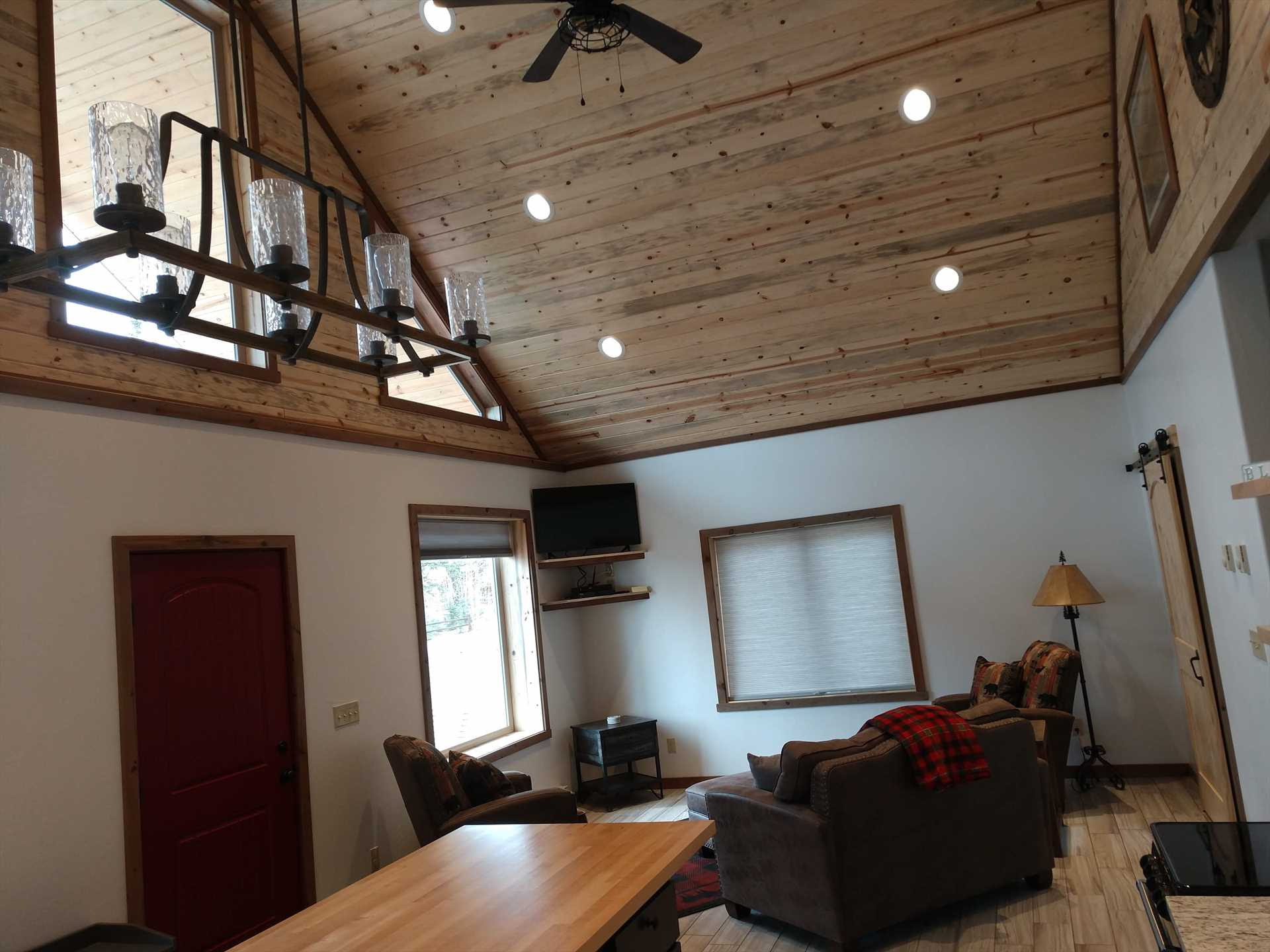 From Kitchen into Living Room of Bunkhouse