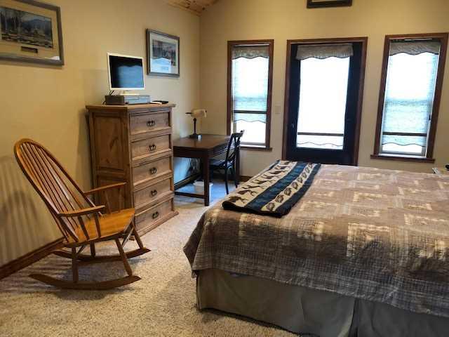 Master Bedroom with Door to Deck