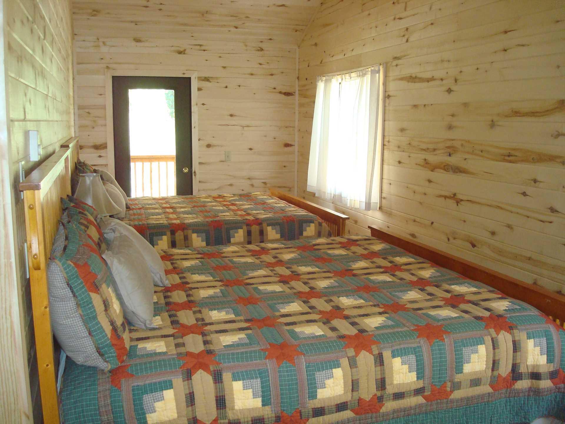 Upstairs Bedroom #1 - 2 King Beds