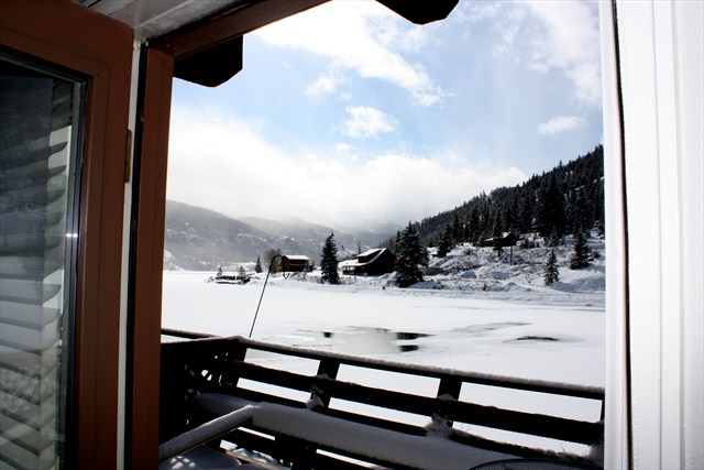 View From Deck in Winter