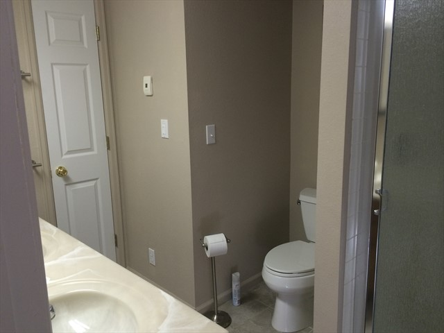 Bathroom #2 with In Floor Heat