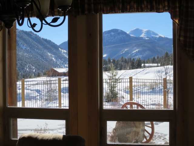 View from Sunroom of House