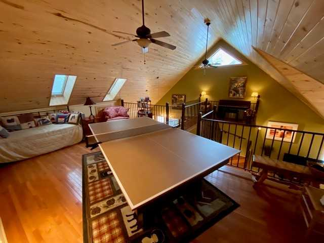 Loft Area with Piing Pong Table and Twin Trundle