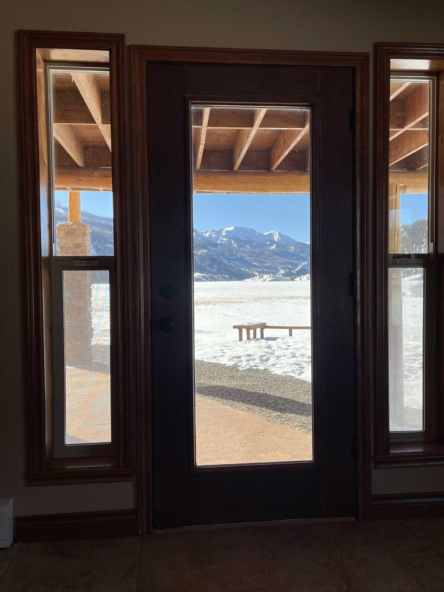 View from Master Bedroom Door
