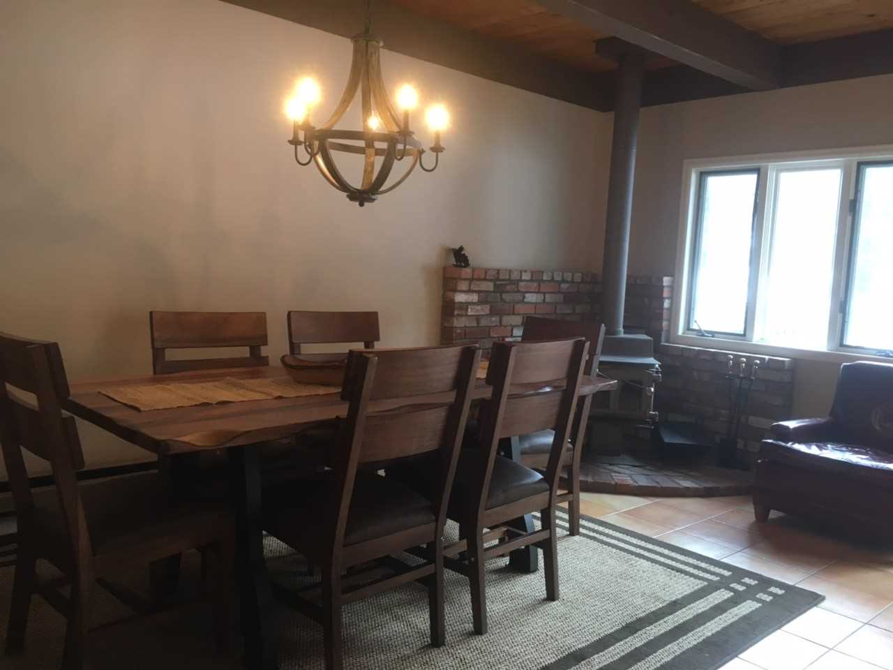 Dining Area with Large Family Table
