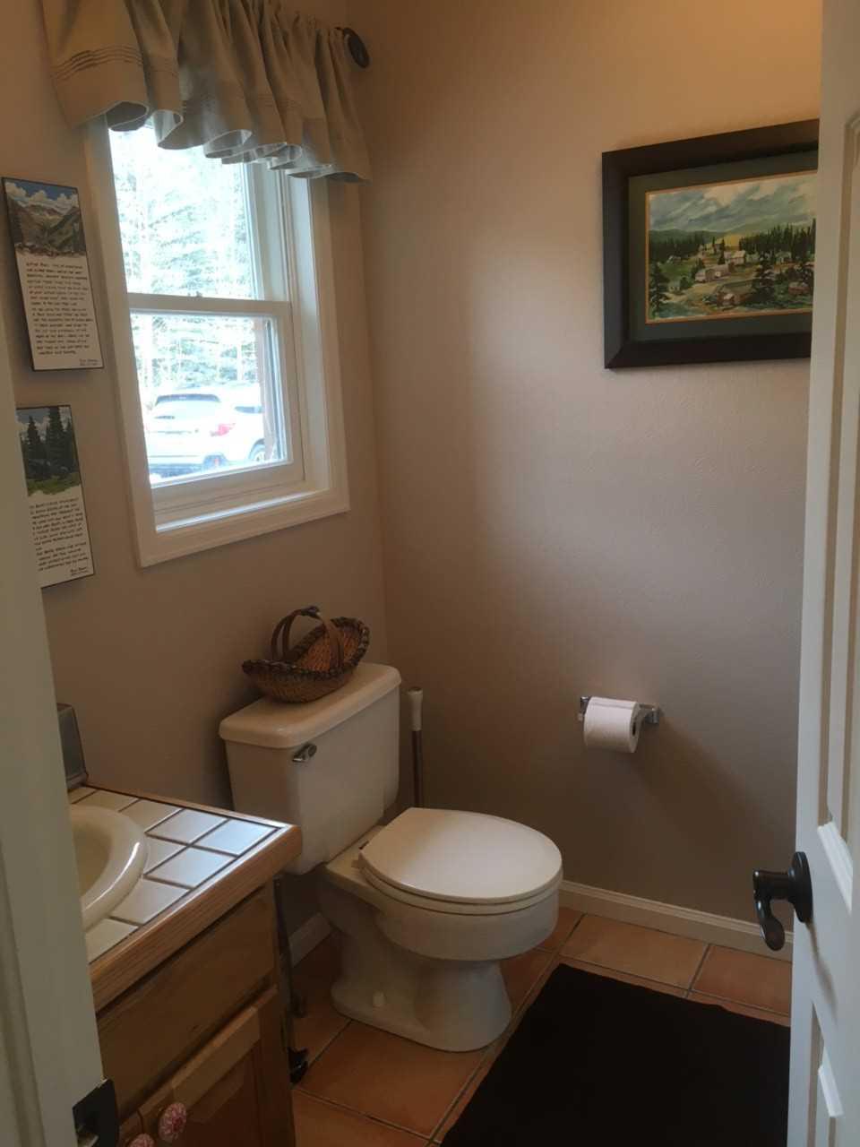 Downstairs 1/4 Bathroom