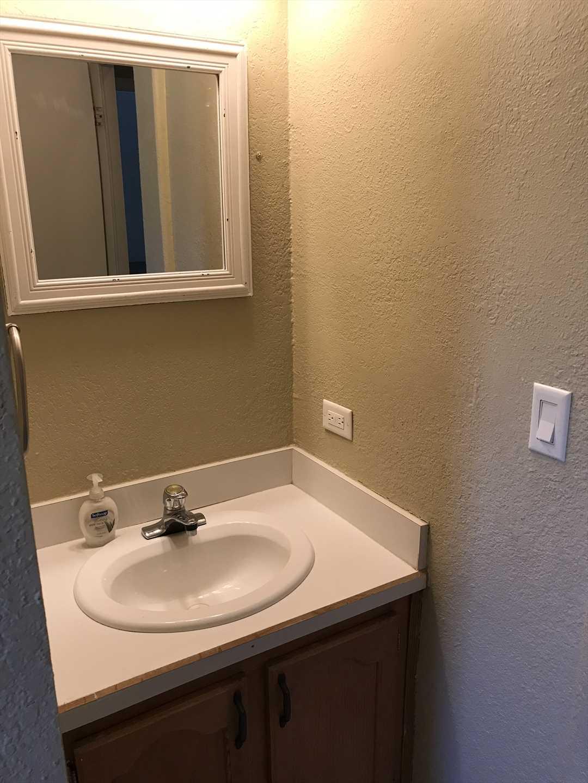 Vanity in 2nd Bathroom