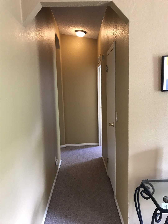 Hallway to Back Bedrooms