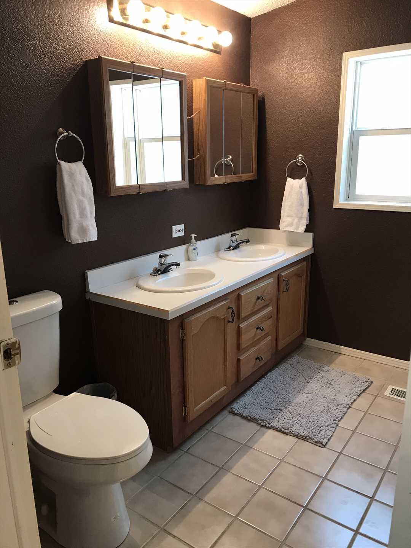 Master Bathroom with Dual Vanities