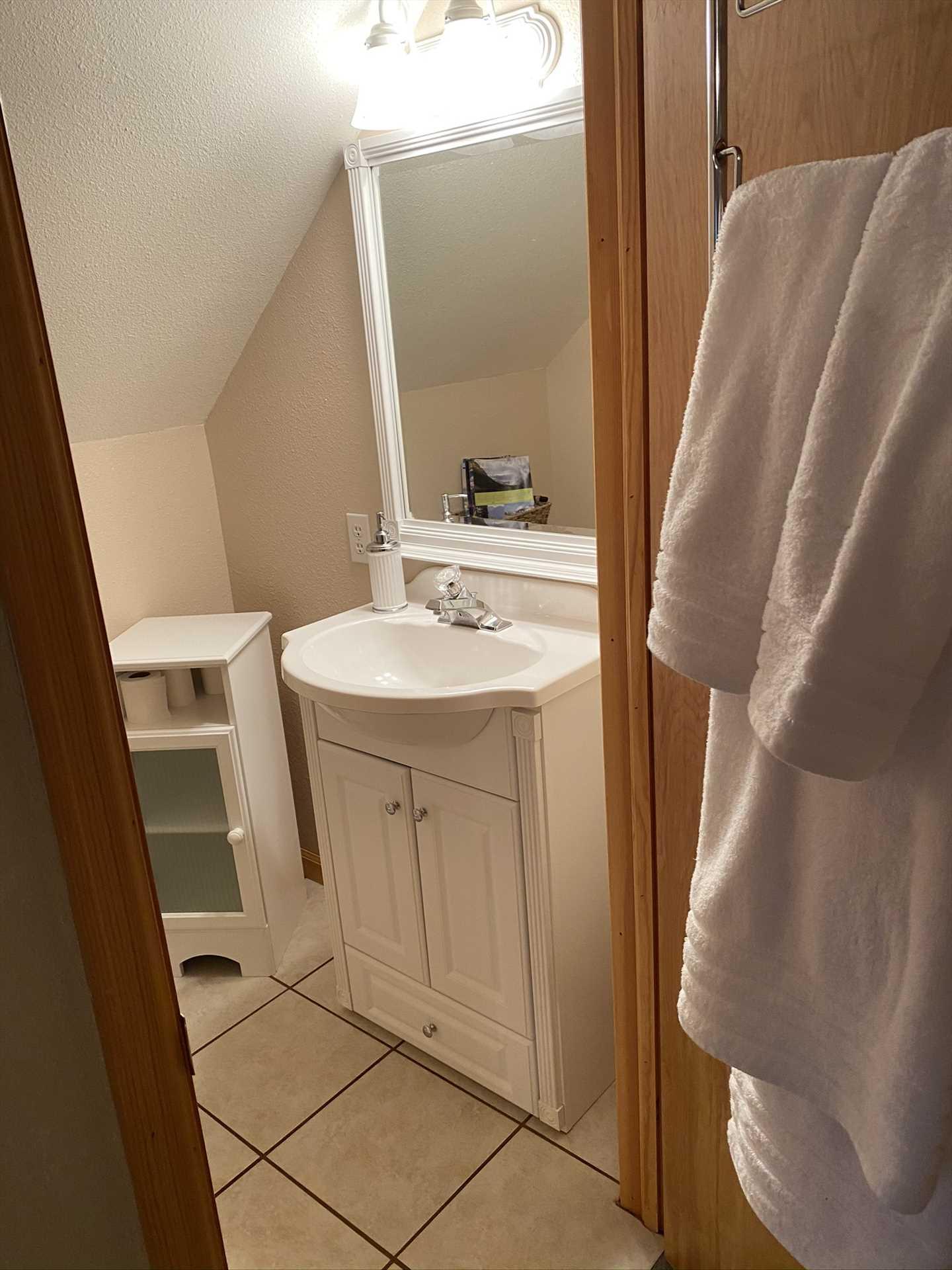 Bathroom in Upstairs 2nd Bedroom