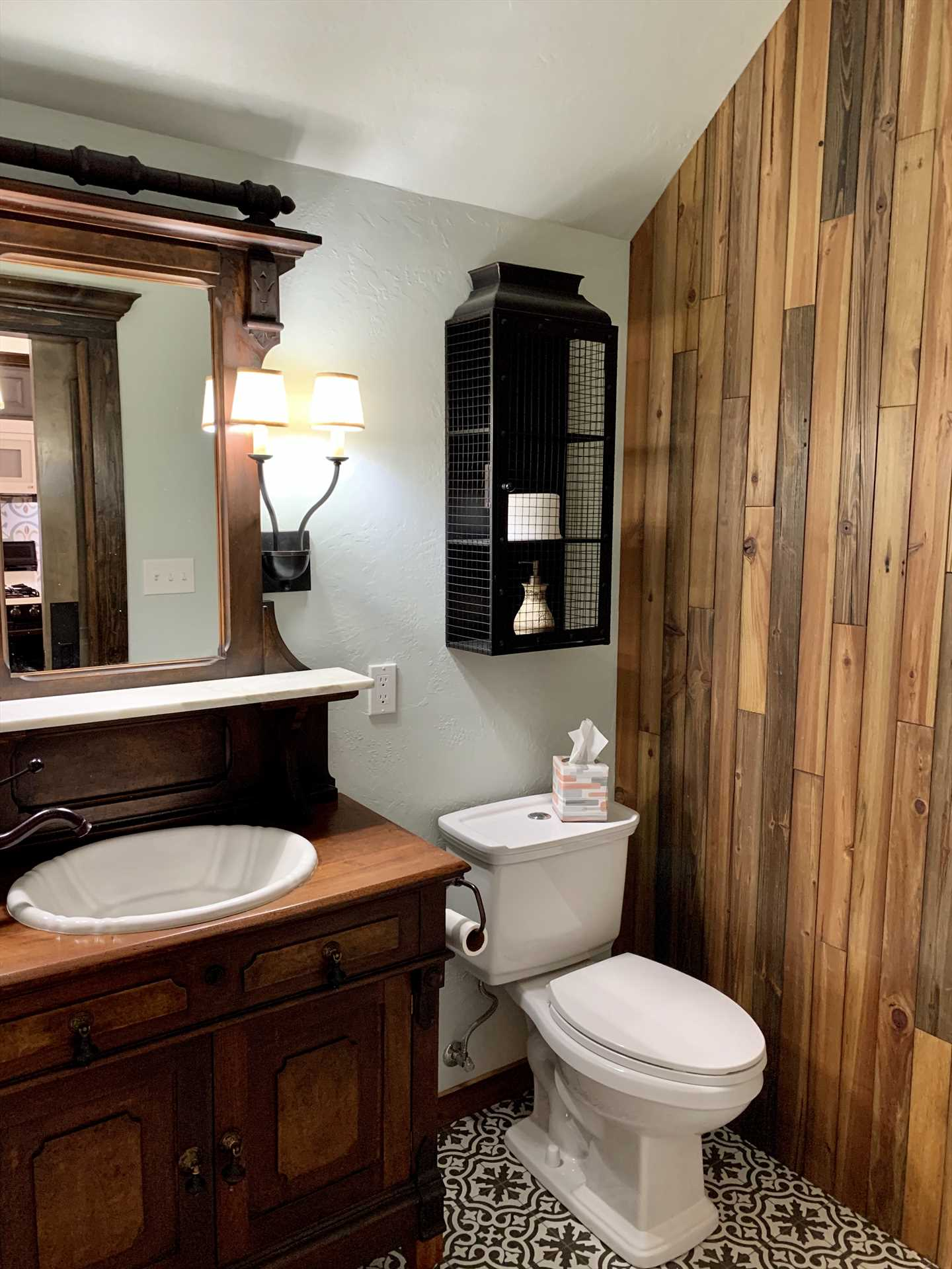 Full Bathroom with high quality finishes