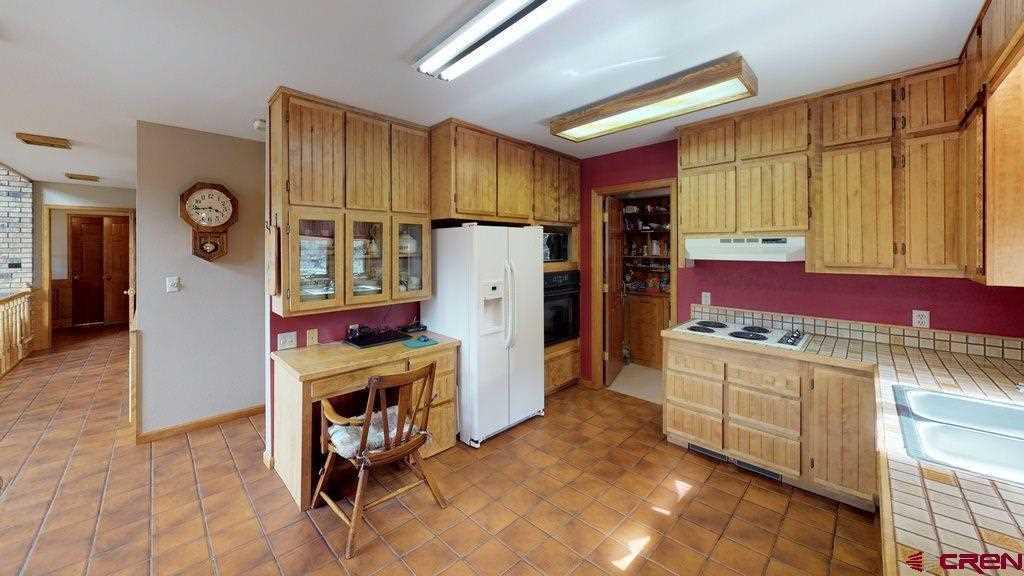 Kitchen Looking Back Toward Front Door